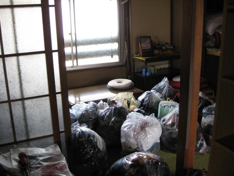 高松市 ゴミ袋回収を致しました。