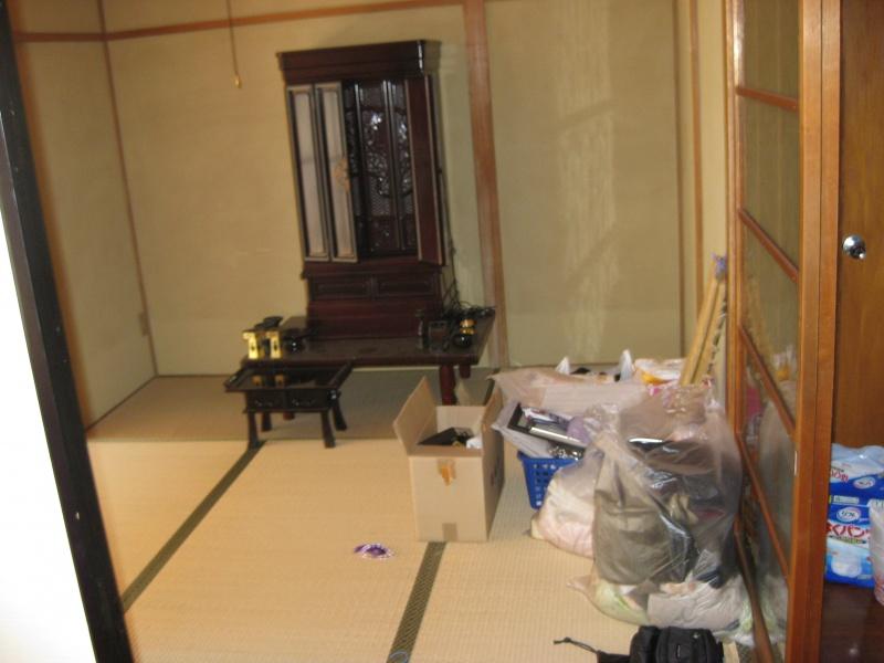 高松 お仏壇搬出作業  遺品整理も致しました