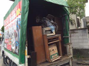 高松市 家庭ごみなどご不要になられた処分品を回収致しました。