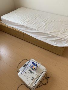高松市内にてシングルベッドの処分対応いたしました。