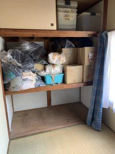 高松市内にて引っ越しに伴う不用品回収対応。